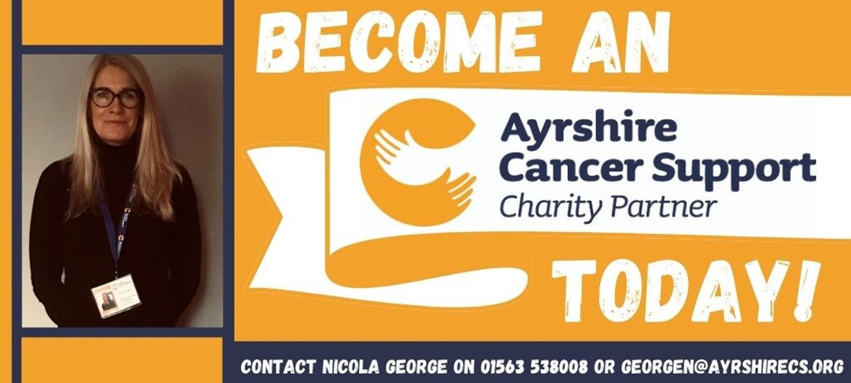 Become an Ayrshire Cancer Support Charity Partner Image