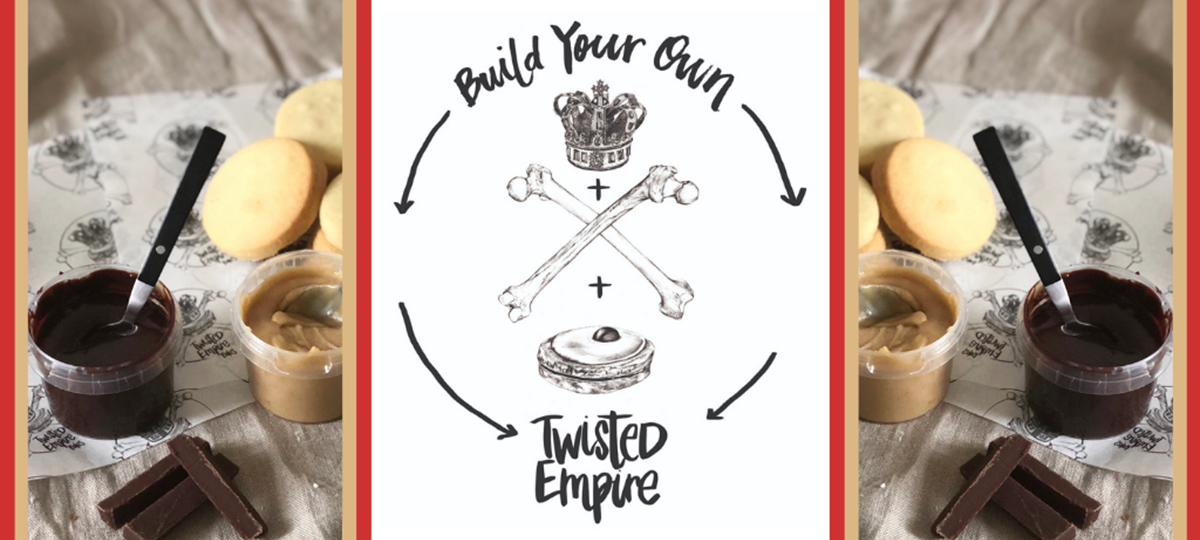 Offer: Brighten up lockdown with a 'Build your Own Twisted Empire' box! by Twisted Empire Bakes